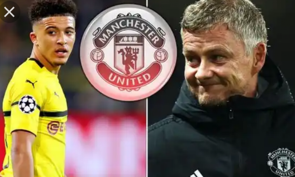 Jadon Sancho is coming to Man United this summer