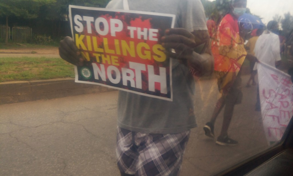 Kaduna State Joins The Protest But Not On EndSARS but Against Insecurity