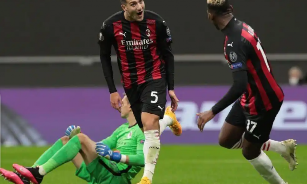 Man United star shows attacking skills in AC Milan win