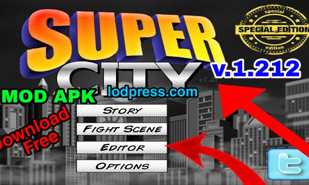 Super City Mod Apk version 1.212 Download