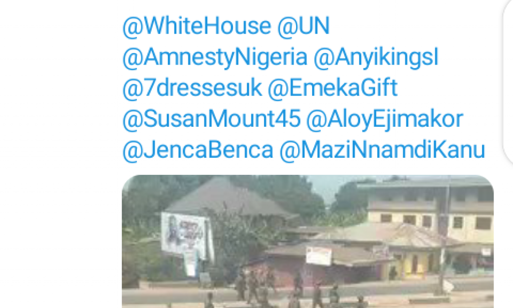 Orlu- Trending on Twitter Following the Clash Between the Nigerian Soldiers and the Eastern Security Network at Orlu LGA.