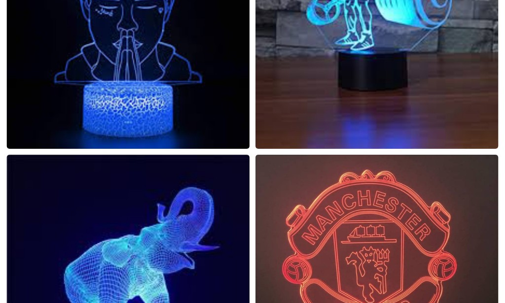 Decorate your homes with these 3D Illusion Lamps.