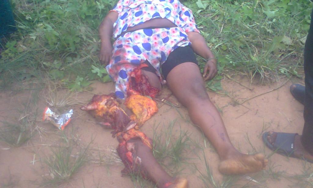 The terrible accident happening in Ikot Ekpene, Akwa-ibom State