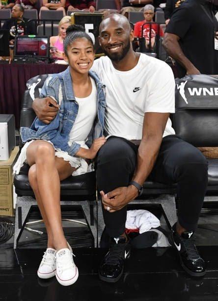 Kobe with his daughter Gianna Bryant