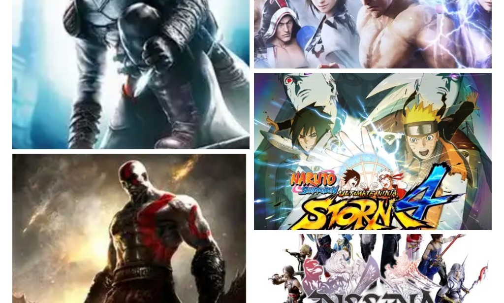 Top 5 Most Interesting PPSSPP Games 2021