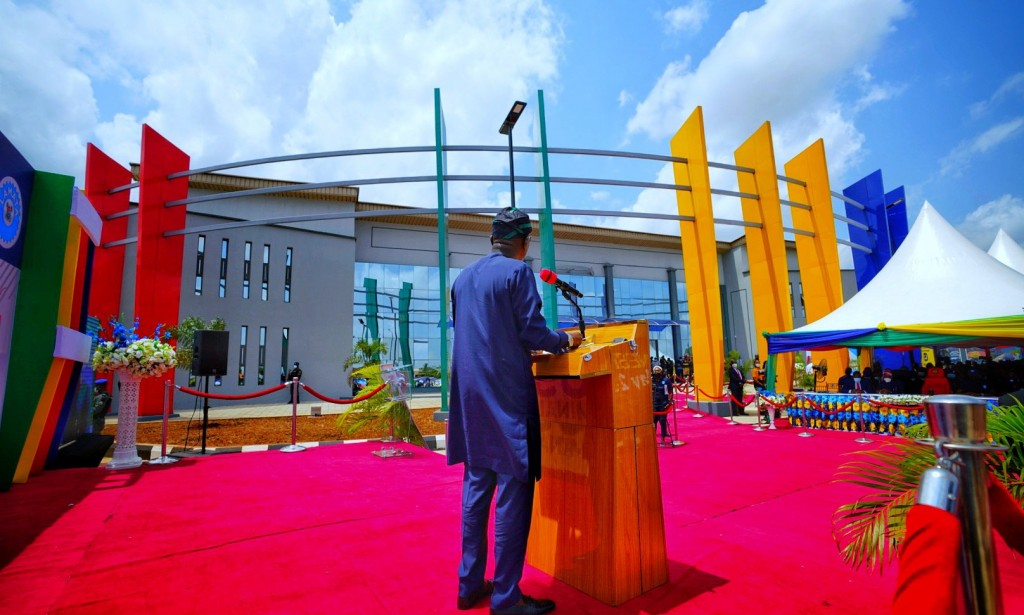 Just In: Lagos State Governor, Babajide Sanwo Olu Commissions A World Class Bus Terminal